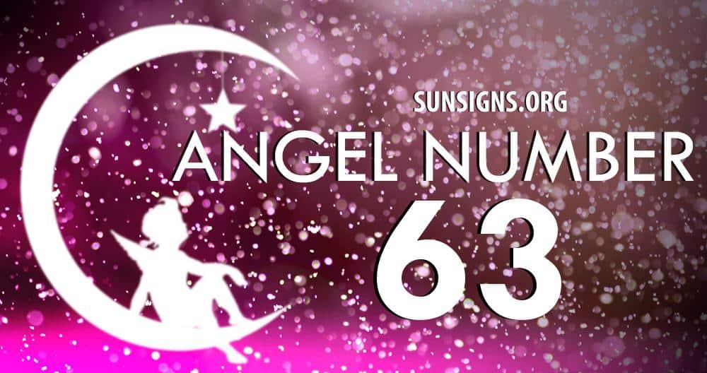 angel number 63