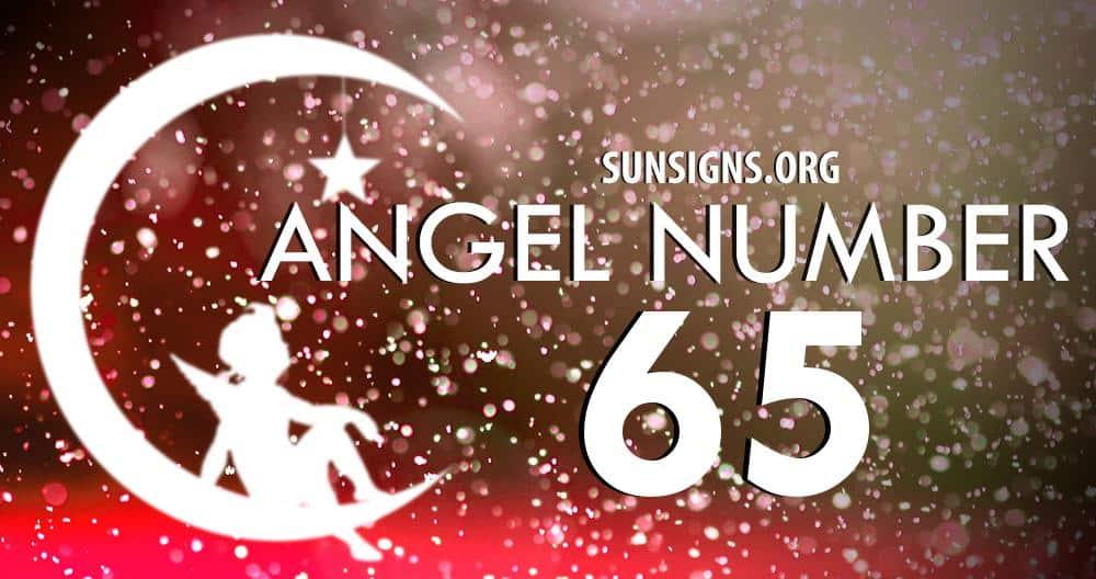 angel number 65