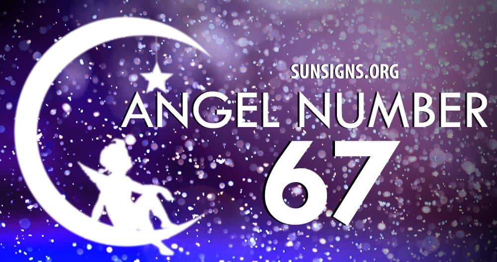 Angel Number 67