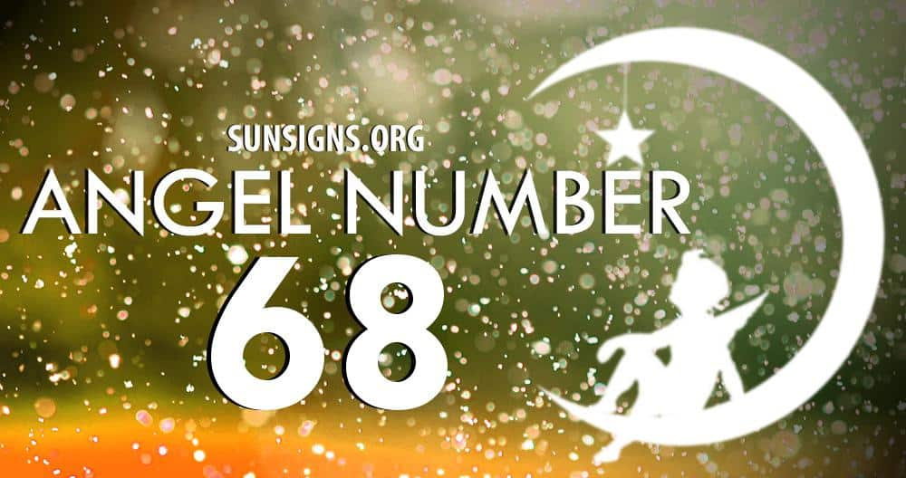 angel number 68