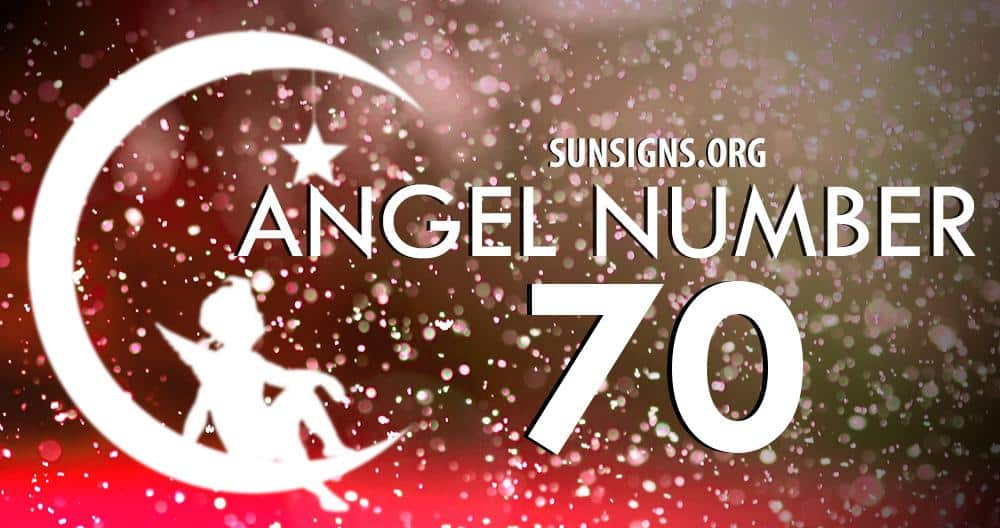 angel number 70