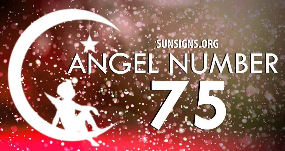 angel number 75