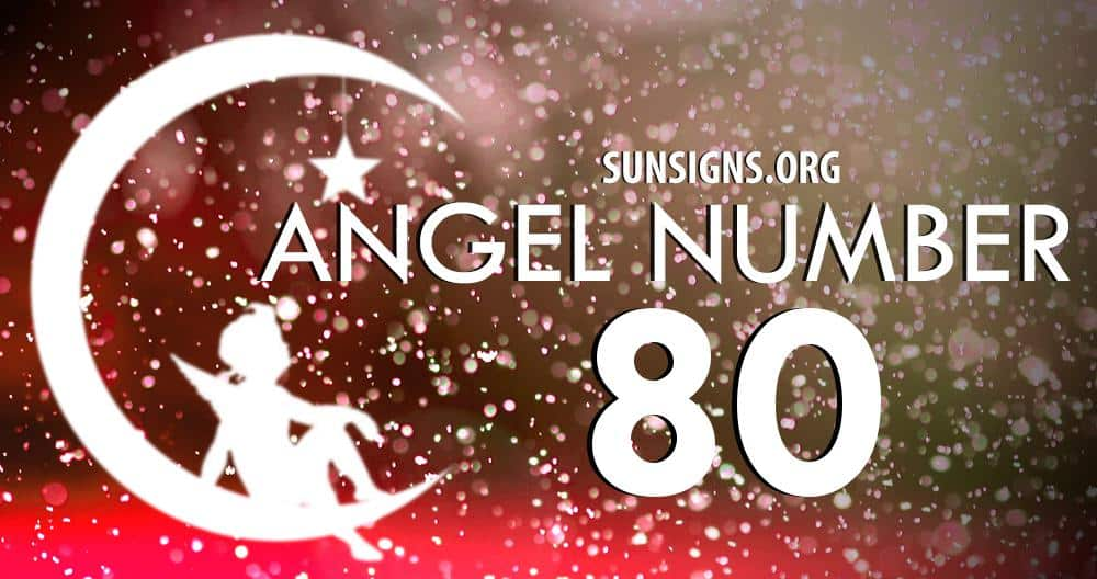 angel number 80