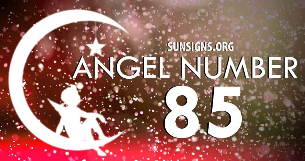angel number 85