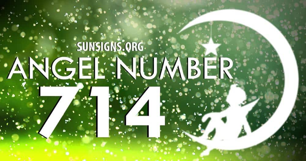 angel number 714