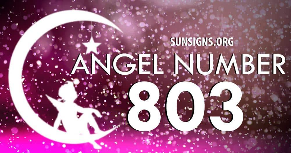 angel number 803