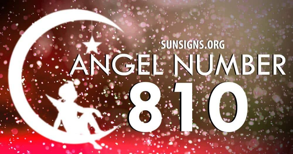 angel number 810