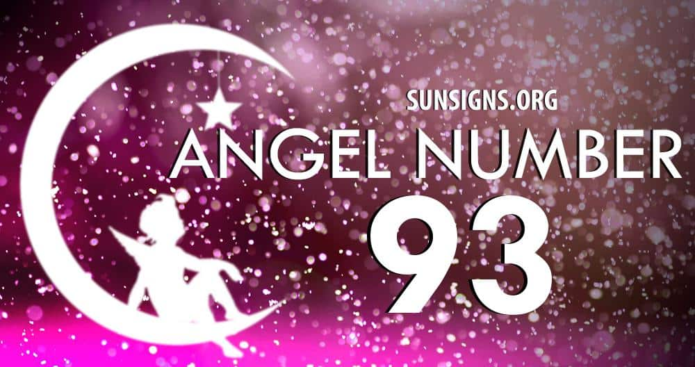 Angel Number 93