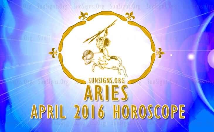 aries april 2016 horoscope