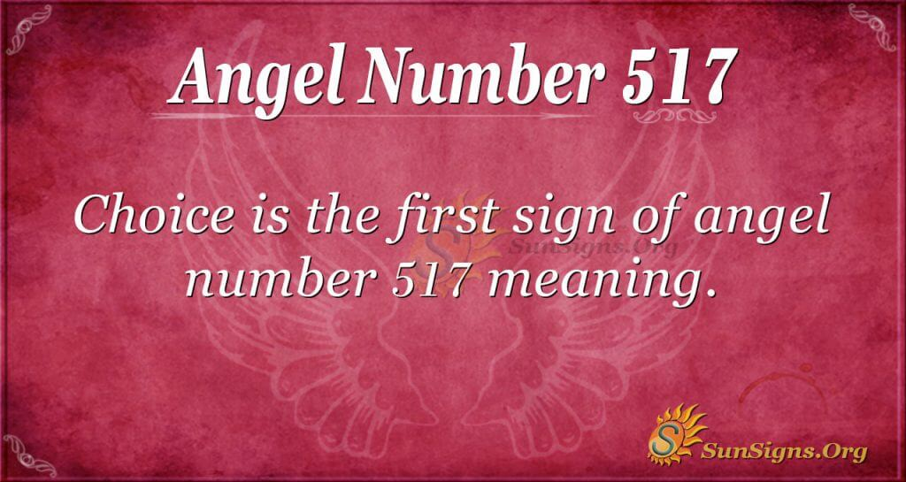 Angel Number 517