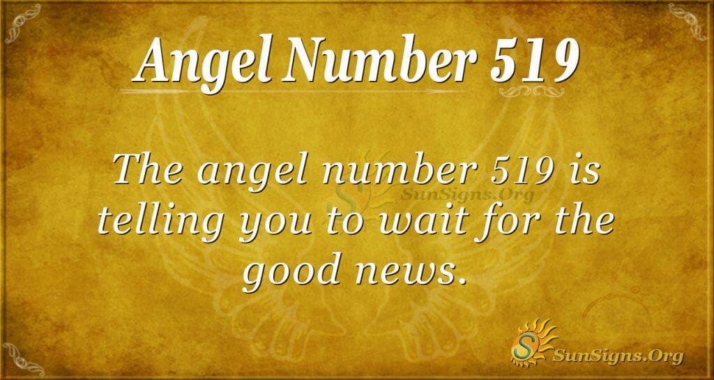 Angel Number 519