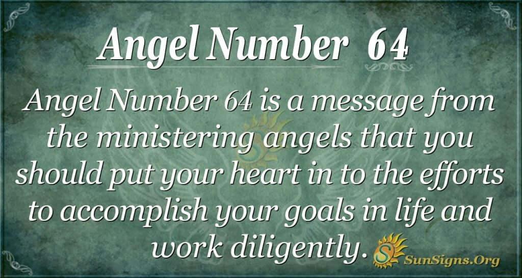 angel number 64