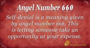 Angel Number 660