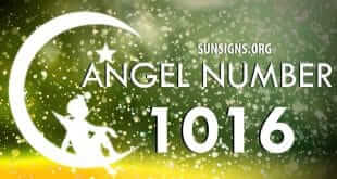 Angel Number 1016 Meaning