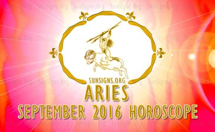 aries september 2016 horoscope