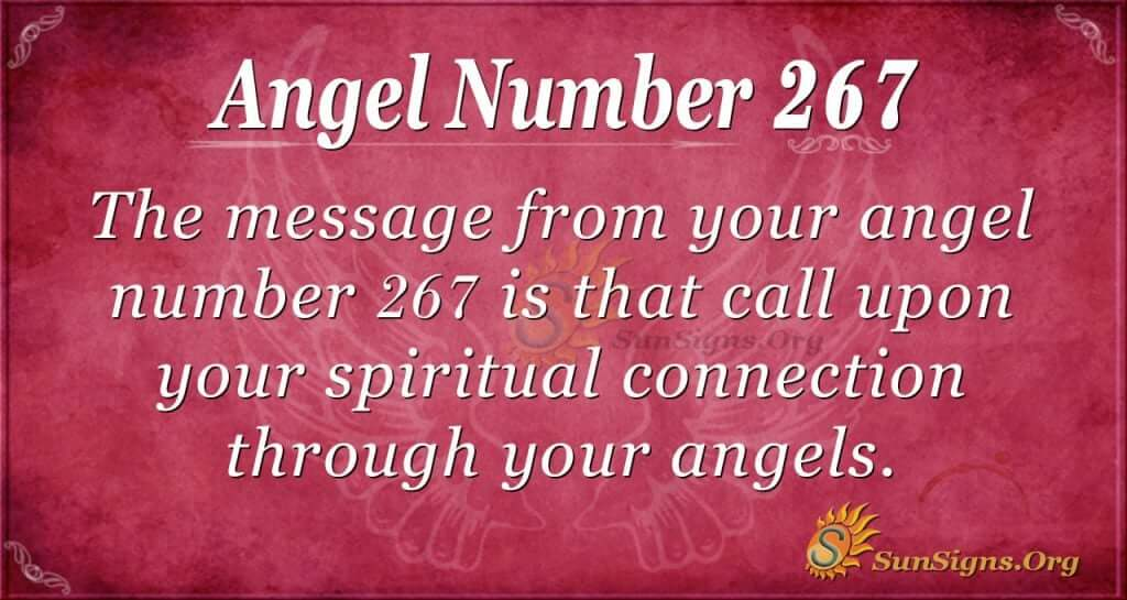 Angel Number 267