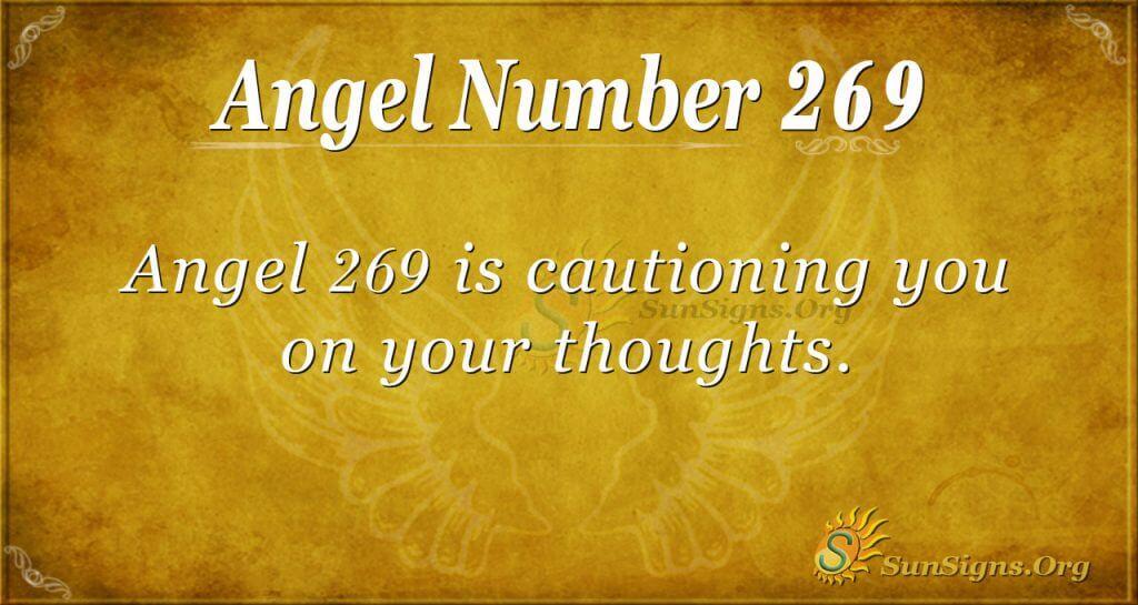 Angel Number 269