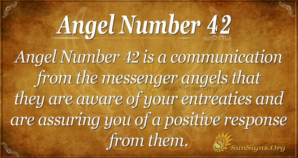 angel number 42