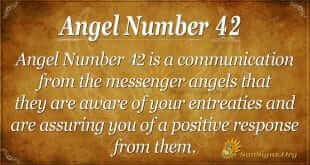 angel number 42