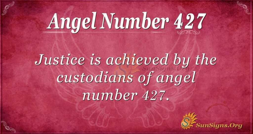 Angel Number 427