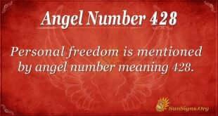 Angel Number 428