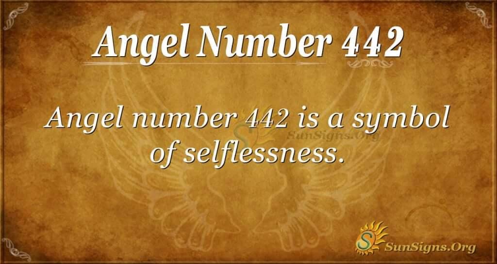 angel number 442