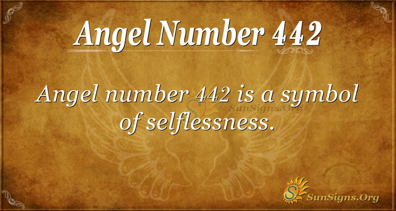 Angel Number 442 Meaning