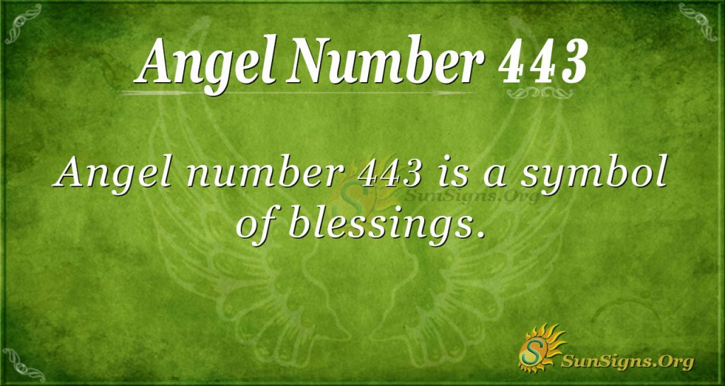angel number 443