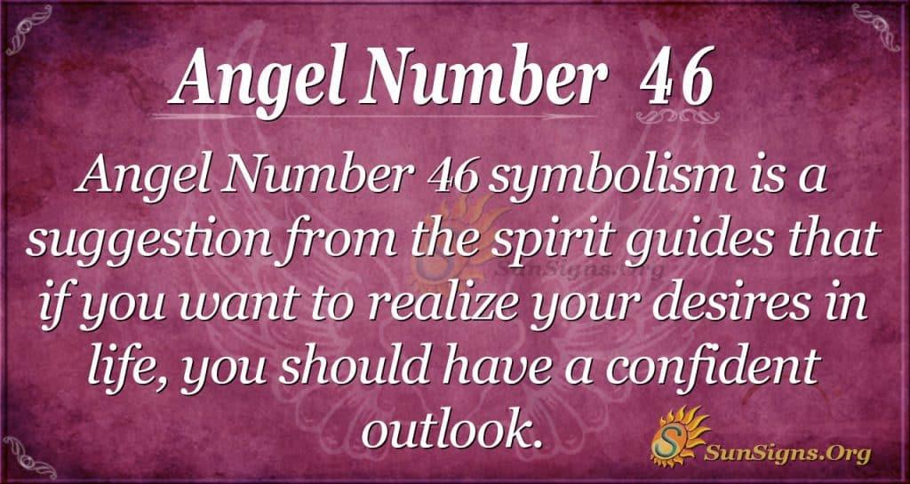 angel number 46
