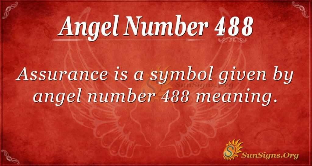 Angel Number 488