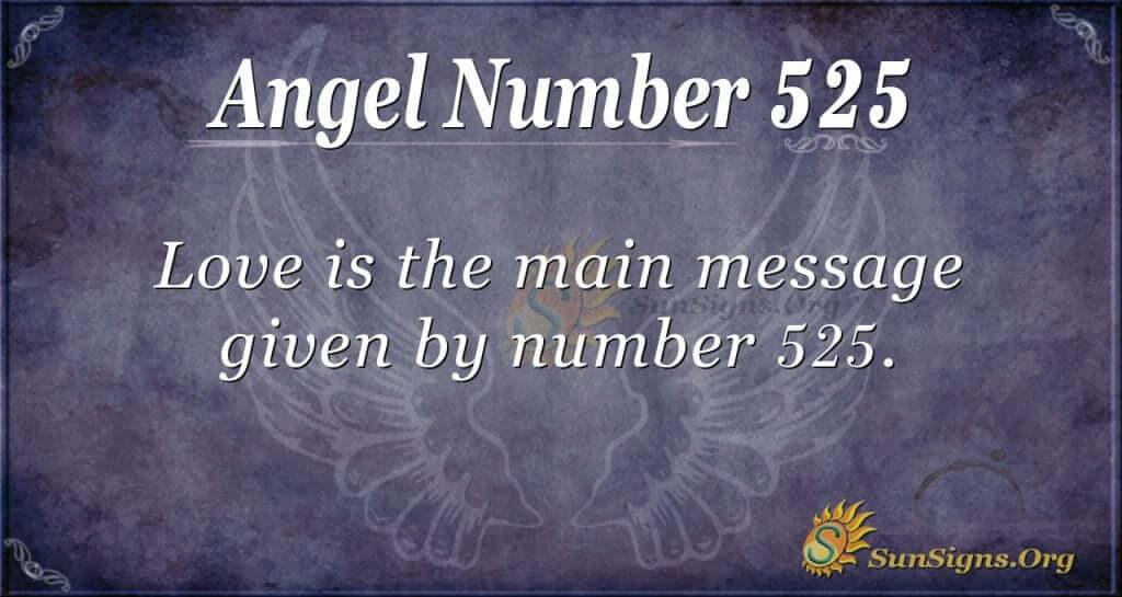 Angel Number 525