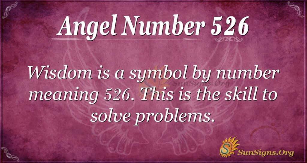 Angel Number 526