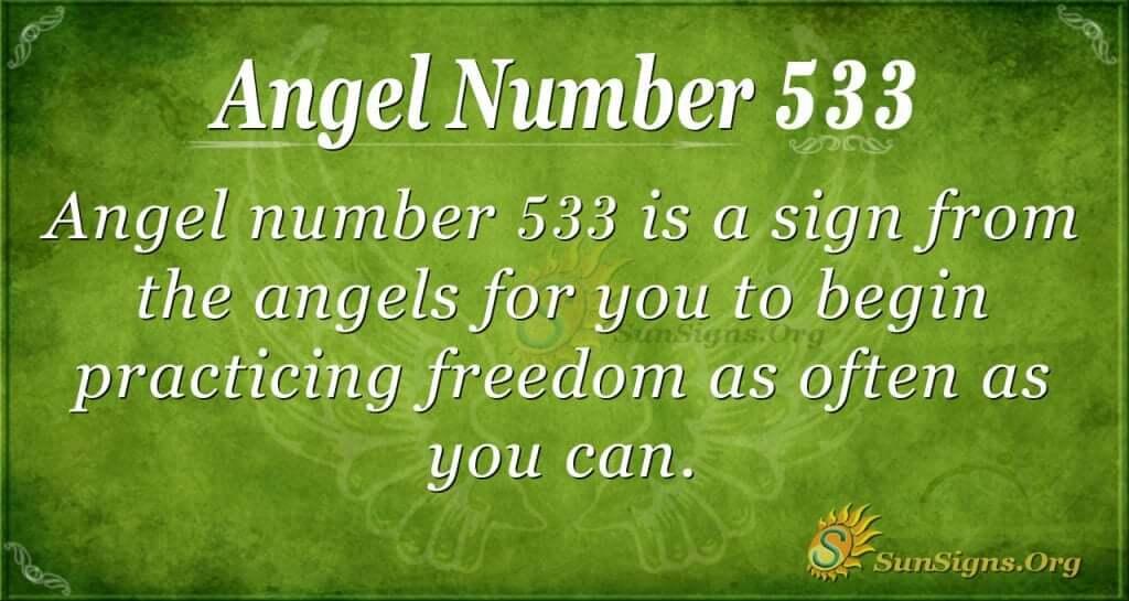Angel Number 533