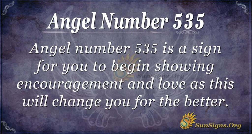 Angel Number 535