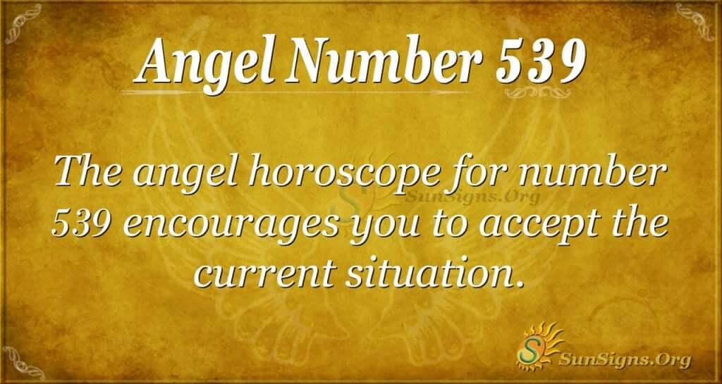 Angel Number 539