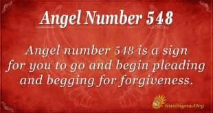 Angel Number 548