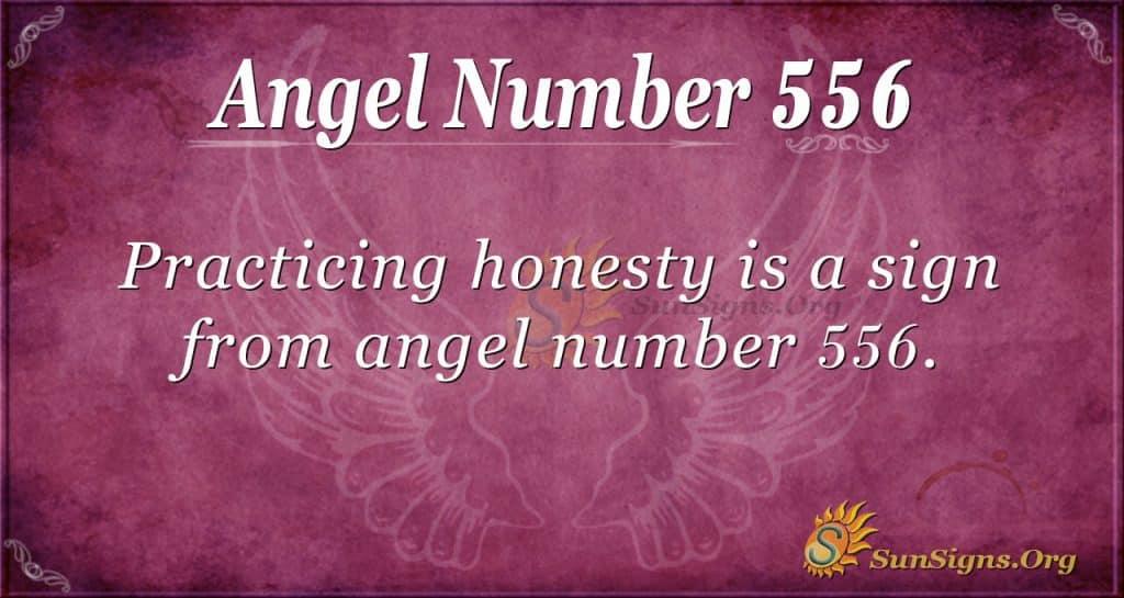 angel number 556
