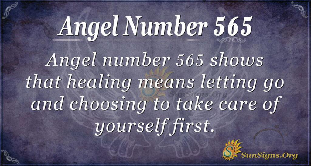 Angel Number 565