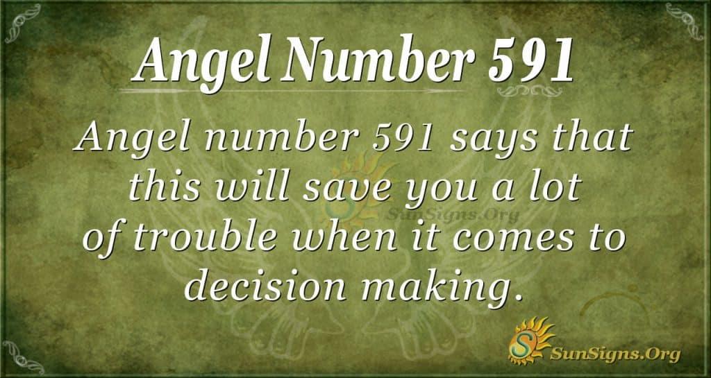 angel number 591
