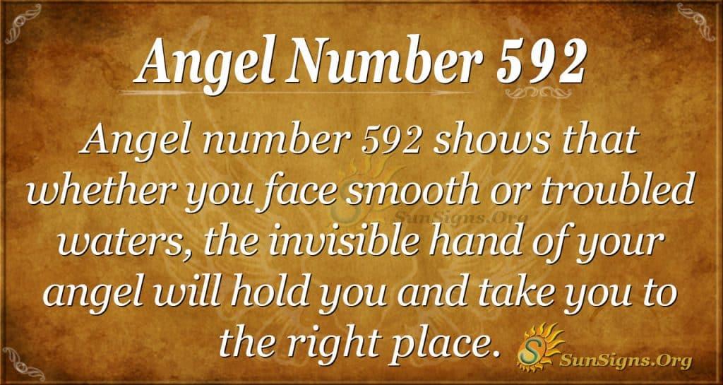 angel number 592