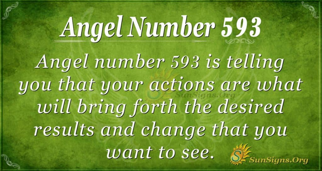 angel number 593