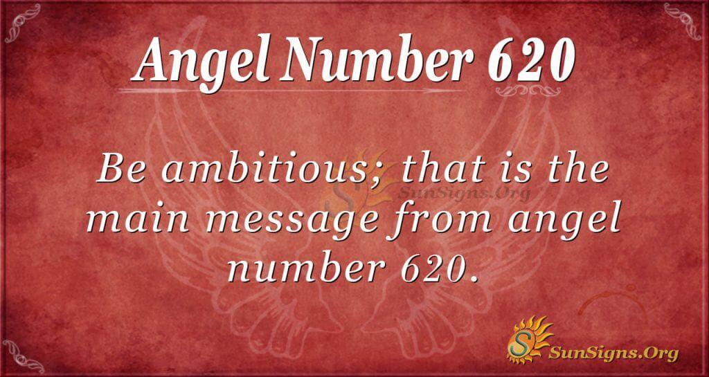 angel number 620