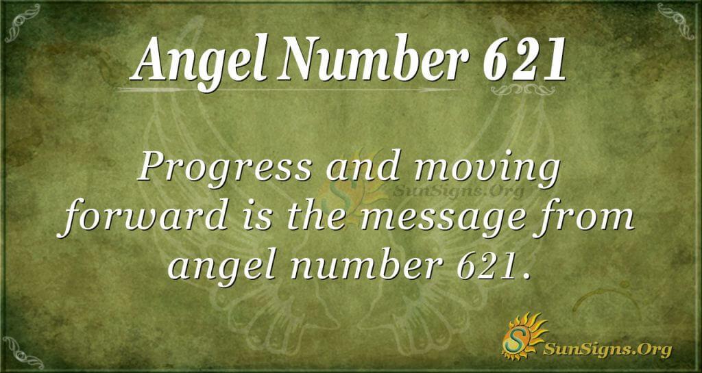 angel number 621