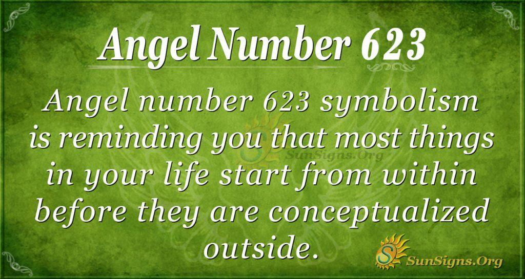angel number 623