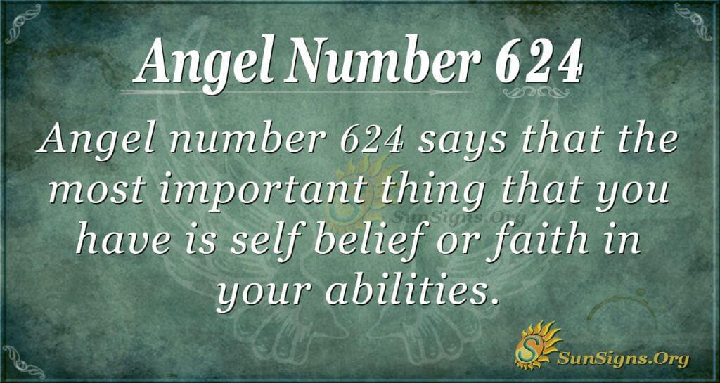 angel number 624