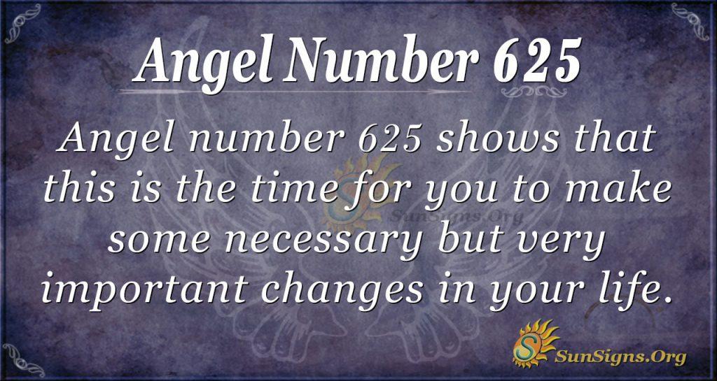 angel number 625