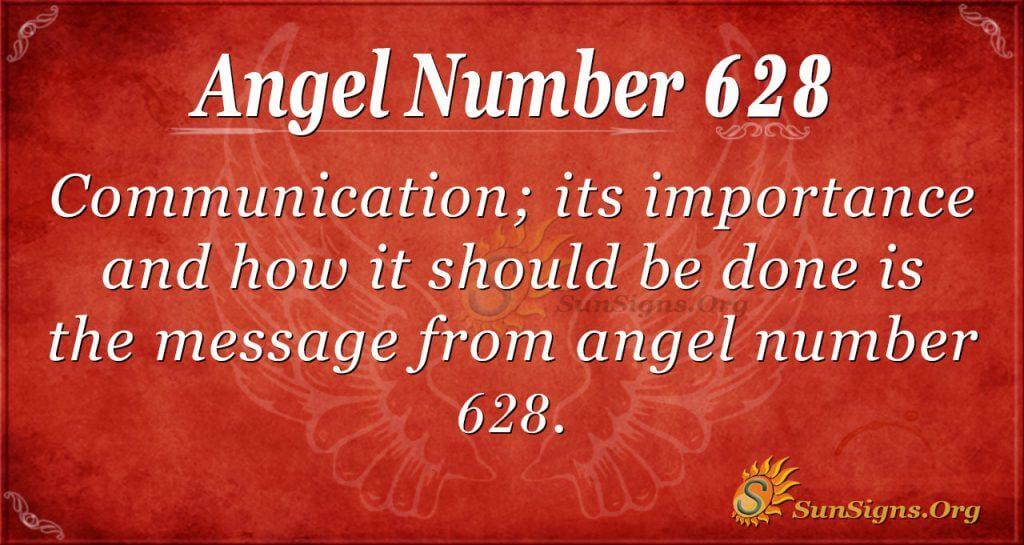 angel number 628