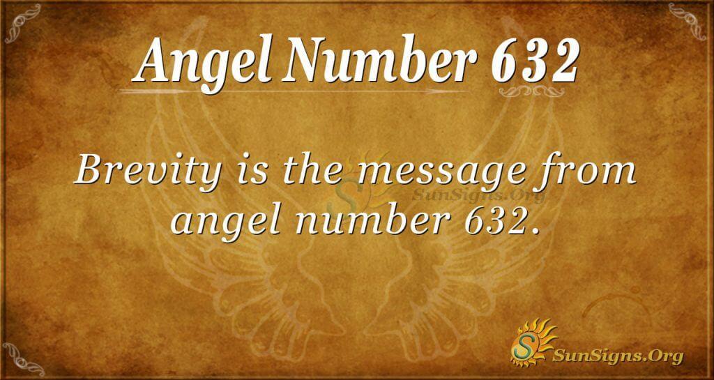 angel number 632