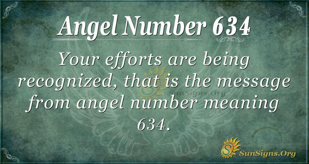 angel number 634