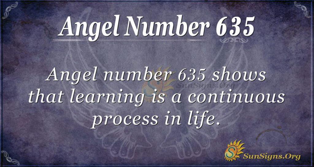 angel number 635